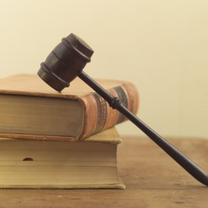 Gavel and Law Books